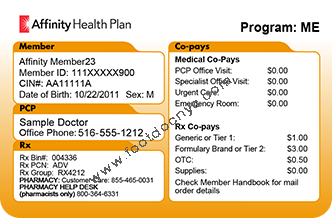affinity health plan customer service